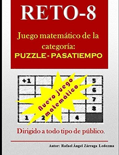 RETO-8: Reto-8: Juego matemático, de la categoría: puzzle -pasatiempo.