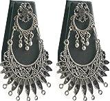 #6: Buy Golden Color Designed Jumka Earring Online (German Silver)