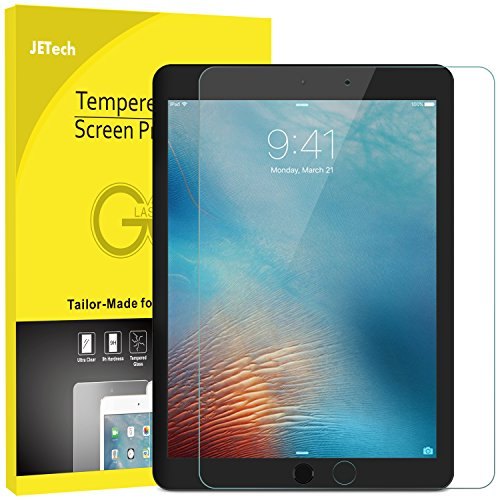 JETech Schutzfolie für iPad Mini 4, Gehärtetem Panzersgla Displayschutz