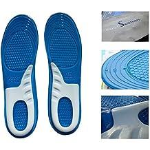 Pie chupetes deportes calidad Gel de masaje plantillas ortopédicas PLANTILLAS botas de trabajo dolor en el talón–CorePro, UK Mens 7 - 12