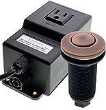 Geyser Chrome Garbage Disposal Air Switch Unit by Geyser