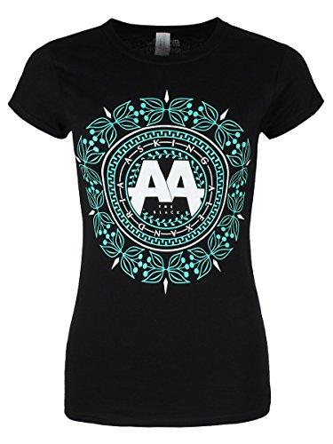 Plastic Head Asking Alexandria Glitz Gts, T-Shirt Femme Noir - Noir