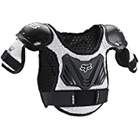 FOX TITAN KIDS ROOST DEFLECTOR BLACK/SILVER MD/LG AGES 6-9 by Fox Racing
