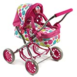 Bayer Chic 2000 555 17 Puppenwagen, Pinky Bubbles