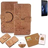 K-S-Trade 360° Cover cork Case for Doogee Y6 4G |