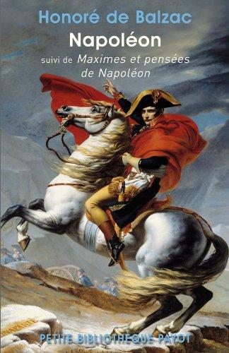 Napoléon par Honoré Balzac