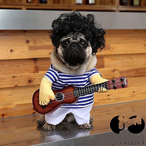 treasure-house Funny Hund Pet Kleidung Katze Kostüm Anzug Corsair Dressing Up Party Bekleidung Kleidung für Hunde Katze (ohne - Dressing Up Für Halloween Ohne Kostüm
