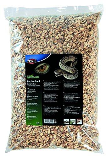 Trixie Natural Terrarium Substrate Reptiland Beech Chaff, 20 Liter