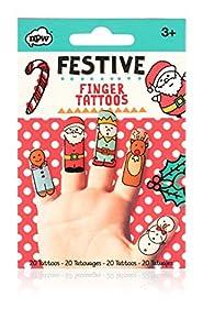 NPW Tatuajes de dedos festivos W17823