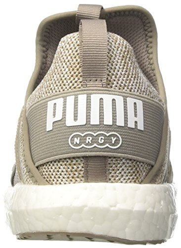 Puma Mega Nrgy Knit Wns, Scarpe da Fitness Donna Grigio (Rock Ridge-puma White)