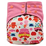 Easy Feel Printed PUL Double Gusset Bamb...