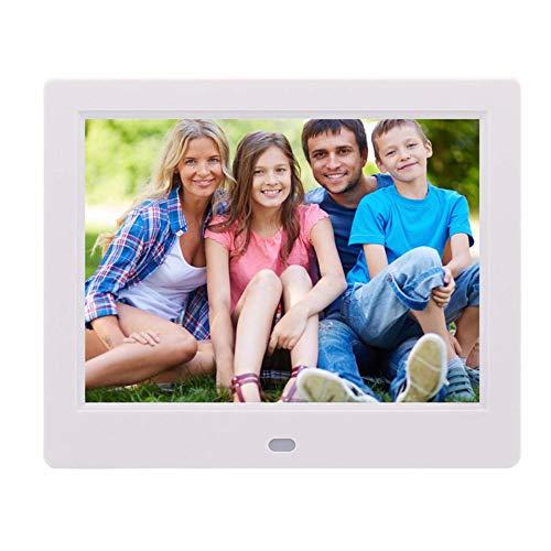SPFDPF Digitaler Bilderrahmen 8 Zoll Neue dünne HD Fotoalbum Video Display Rack Werbemaschine