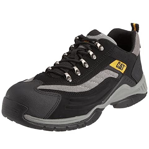 CAT Footwear Moor Sb, Men's Safety Shoes, Black, 8 UK