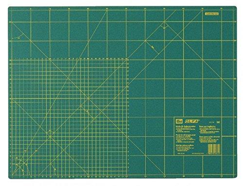 Prym Tapis de découpe double face Graduation cm et pouces échelle – 60 x 45 cm (58,4 x 43,2 cm)