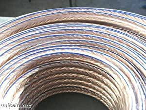 Cable enceinte Cuivre-Argent 50/50 - 2 X 2,5 mm² - 5 Metres