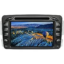 """XISEDO Android 7.1 Autoradio 2 Din In-dash Car Radio 7"""" Car Stereo RAM 2G Navigatore GPS con Schermo di Tocco e Lettore DVD per Mercedes-Benz CLK W209/ C Class W203/ Viano/Vito/ Vaneo/ A-Class W168 (Autoradio)"""