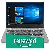 (Renewed) Lenovo Ideapad 330s Intel Core I3 7th Generation14-inch FHD Thin & Light Laptop ( 4GB RAM / 1TB HDD / Windows 10 Home / Microsoft Office Home and Student 2019 / Platinum Grey / 1.6kg ), 81F401JHIN