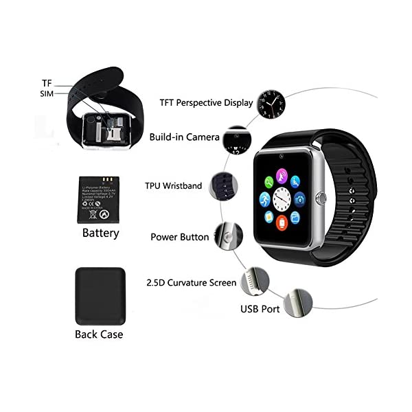 TagoBee TB09 IP67 Pulsera de Actividad Fitness Tracker smartwatch Monitorización de la presión Arterial Notificaciones… 7