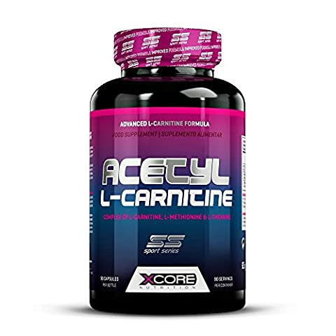 XCore 100% Acetyl L-Karnitin Kapseln 500mg - Qualitativ hochwertiges Aminosäure-Ergänzungsmittel