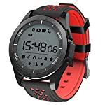 Padgene Upgrade Version F3 Sports Smart Watch Waterproof IP68 Swimming Watch Bluetooth 40 With Pedometer Sleep Monitor Calorie Burnning Plus With Music Control Message RemindAnti Lost Smart Heal