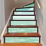 Nuovi adesivi per piastrelle Stripes Decal scale adesivi rimovibili Art Home Decorazioni Carta da parati Fai da te, LT047 , 100*18cm*13 tablets