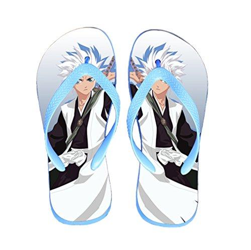 Bromeo Bleach Anime Unisex Flip Flops Zehentrenner Flip Pantoffeln 253