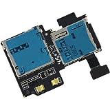BisLinks® SD Sim Kartenleser Slothalter Flex Flachbandkabel für Samsung Galaxy S4 GT i9500