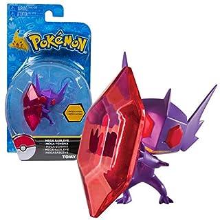 TOMY Bewegliche Spielfiguren zur Auswahl | Pokemon Action-Figuren, Spielfigur:Mega Zobiris