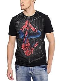 Spiderman Men's Printed Regular Fit T-Shirt