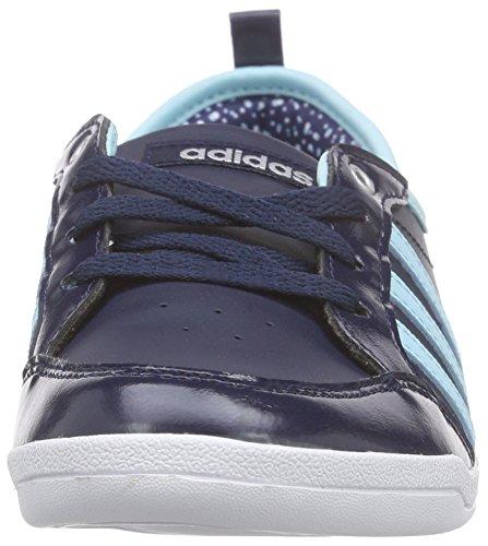 adidas Piona W, Chaussures de Running Compétition Femme, Bleu Multicolore - mehrfarbig (Conavy/Bluzes/Msilve)