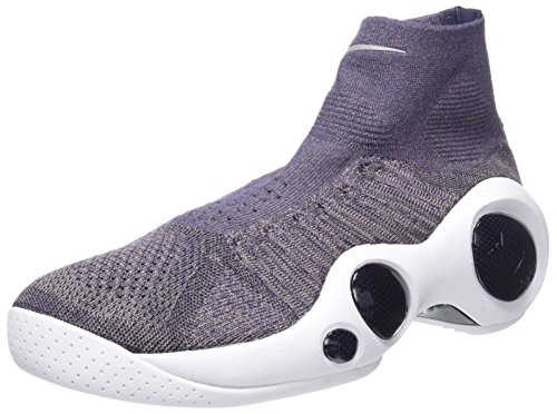 Nike Flight Bonafide, Scarpe da Basket Uomo Grigio (Taupe Grey/Dark Raisin/Summit White)