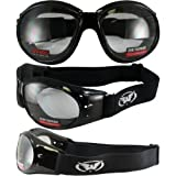 Best Global Vision Eyewear Night Vision Goggles - Red Baron Motorcycle/aviator Goggles Day Night Review
