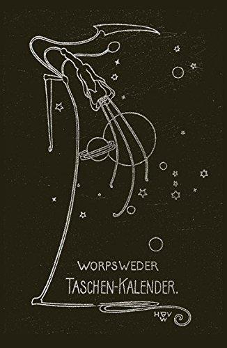 Worpsweder Taschenkalender: Ein immerwährendes Merkbuch (dunkelbraun)