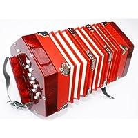 Cherrystone 4260180881677 concertina 2x10 botones rojos