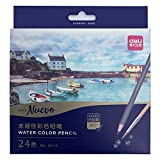 Morcoo 24 colours Adult Colouring Pencils for Drawing Colouring books watercolour Pencils
