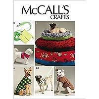 McCalls 6455 - Patrón de costura para confeccionar accesorios para perros (varios modelos) [en inglés y alemán]