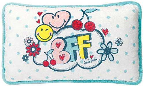 Nici 40732 - Kissen Smiley BFF, Bedruckt rechteckig 43x25cm, Best Friend - Bff-spielzeug