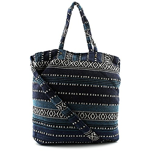 twig-arrow-lulu-tapestry-bucket-cross-body-bag-mujer-azul