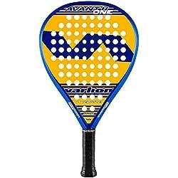 Varlion Avant H One Pala Pádel de Tenis, Unisex Adulto, Amarillo, M