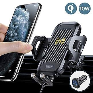TORRAS-Handyhalter-frs-Auto-Wireless-Charger-2019-Upgrade-Kit-mit-Auto-Ladegert-2-Lftungsclips-Qi-75W10W-Fast-Charging-Auto-Handyhalterung-fr-iPhone-11-XS-XR-Samsung-Galaxy-Note10-Note10-Usw