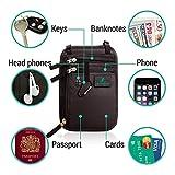 Brustbeutel für Damen und Herren zum Reisen – Brusttasche mit RFID-Blockierung – Umhängetasche Klein - 2
