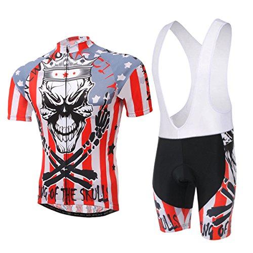PANEGY Damen Herren Sommer Atmungsaktiv Fahrradbekleidung Suit - -