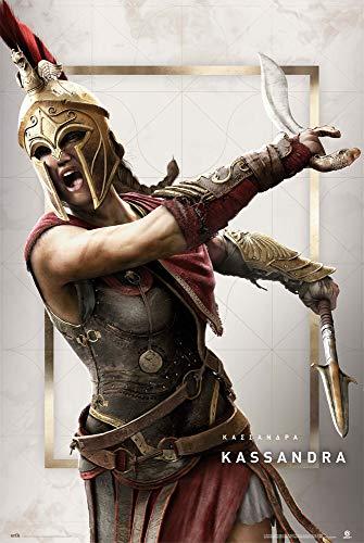 Grupo Erik Poster Assassins Creed Odyssey Kassandra