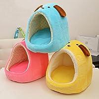 Generic Blue, S : Зима Теплая Милый Стиль Кровать Собаки Pet Dog House Прекрасный Мягкий Pet Cusion Продукты Высокого Качества 3 Цветов