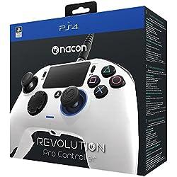 Nacon Revolution Pro Controller - Mando alámbrico blanco