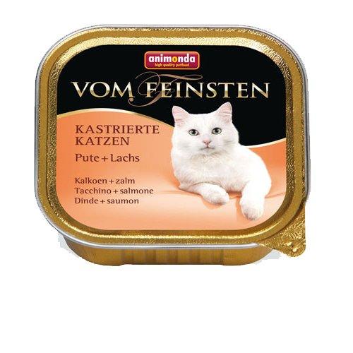 """Animonda Von Feinsten für kastrierte Katzem \""""mit Pute & Lachs\"""" - 1x 100g Schale"""