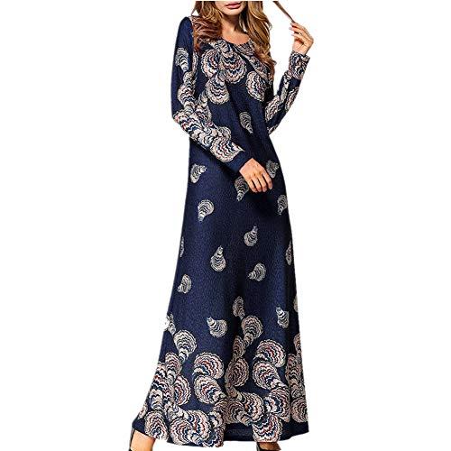 Qmber Kleider Damen Pullover Kleid Elegant Brautjungfernkleid Petticoat -