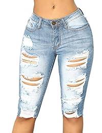 31af73c7f05f VENMO Frau Lässige Slim Fit Denim Skinny Mid Taille Jeans Lange Hosen Jeans  Slim Hose Tech Mesh Sport Leggings…