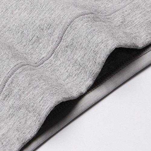 CHLXI Signore Biancheria Intima In Vita Contenitore Di Biancheria Intima Di Cotone Asciutto Rapido Respirabile Colore Solido 5-Pack MixedColor