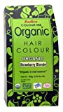 Radico Colour Me Organic Pflanzenhaarfarbe Erdbeerblond Strawberry Blonde Rotblond (bio, vegan, Naturkosmetik) strawberry